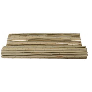 Bamboemat Geel 100