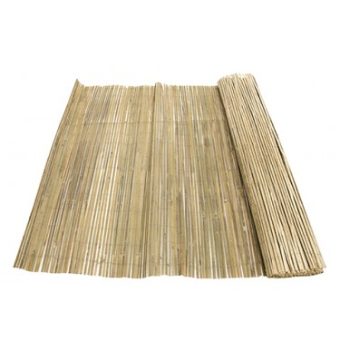 Gespleten bamboemat 150