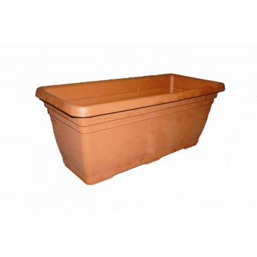 PVC bak Quickhedge Terracotta 100x45x40