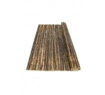 Bamboemat zwart 100